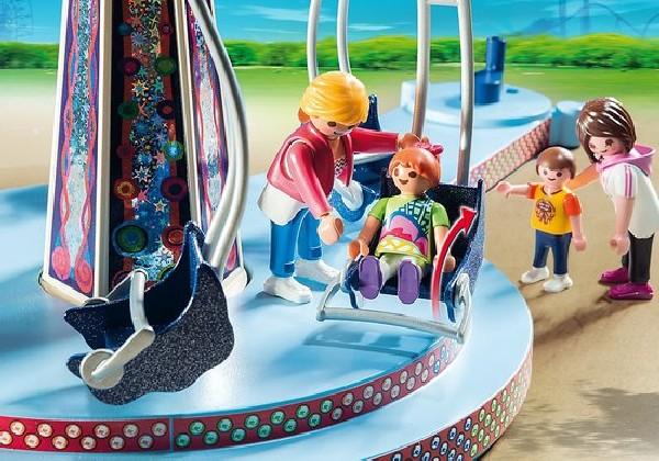 Playmobil Summer Fun Zweefmolen met Verlichting