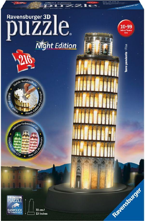 Ravensburger 3D Puzzel Pisa Night Edition