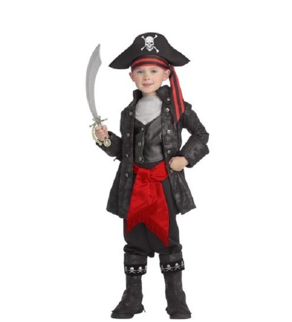 Ongekend Piraten Kostuum Captain Black Jongen 5-7 jaar FN-81