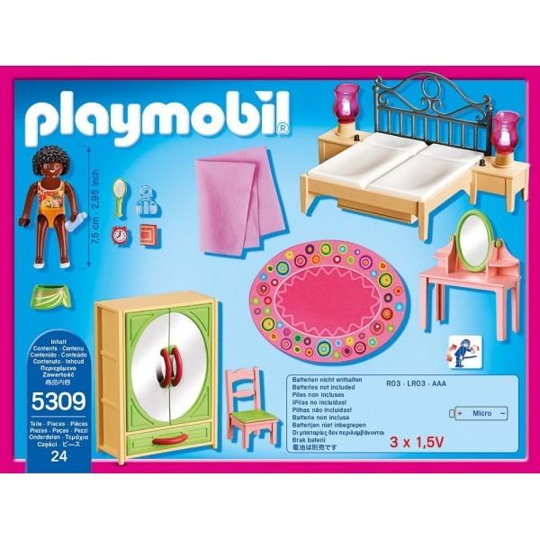 Playmobil Dollhouse Slaapkamer met Kaptafel