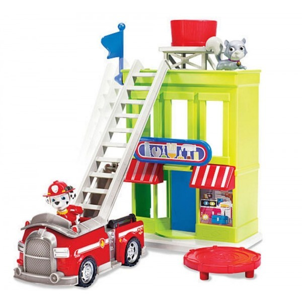 Paw Patrol Marshall 's Adventure Bay Townset