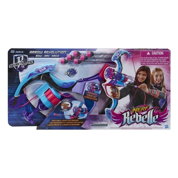 Nerf Rebelle Arrow Revolution Bow - Boog