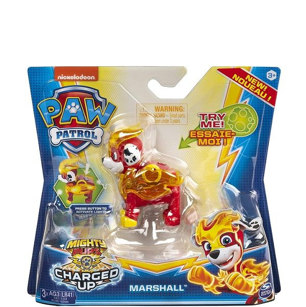 Paw Patrol Mighty Pups Charged Up - Marshall