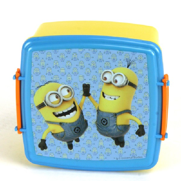 Minions Lunchbox Met Dubbele Clip