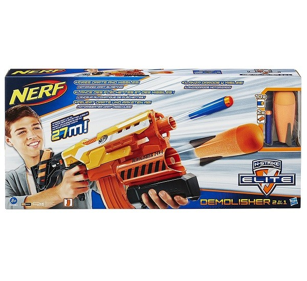 Nerf N-Strike Elite Demolisher 2 in 1 Dartblaster