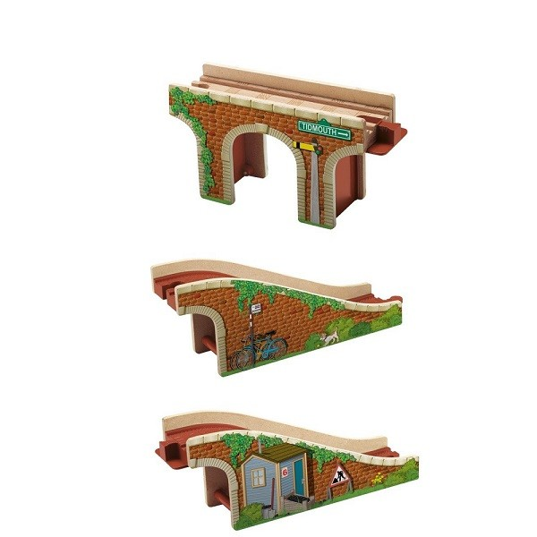 Thomas & Friends Hout Transformatiebrug
