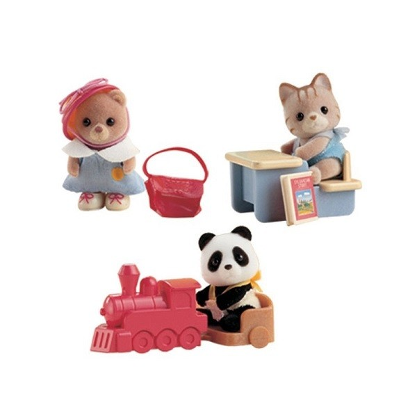 Sylvanian Families Baby-Draagbox Assortiment