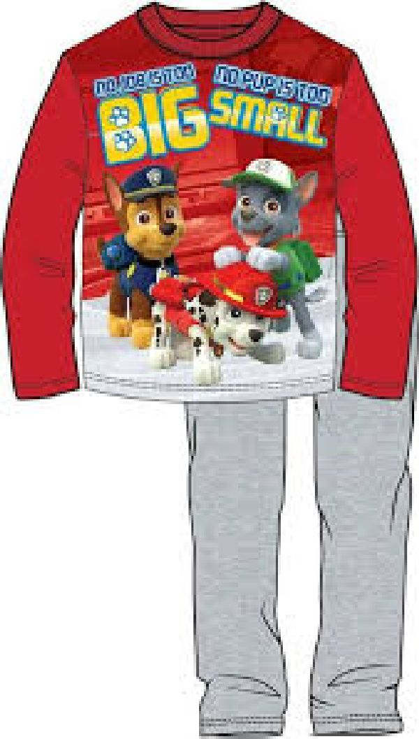 Pyjama Paw Patrol, big/small maat 110