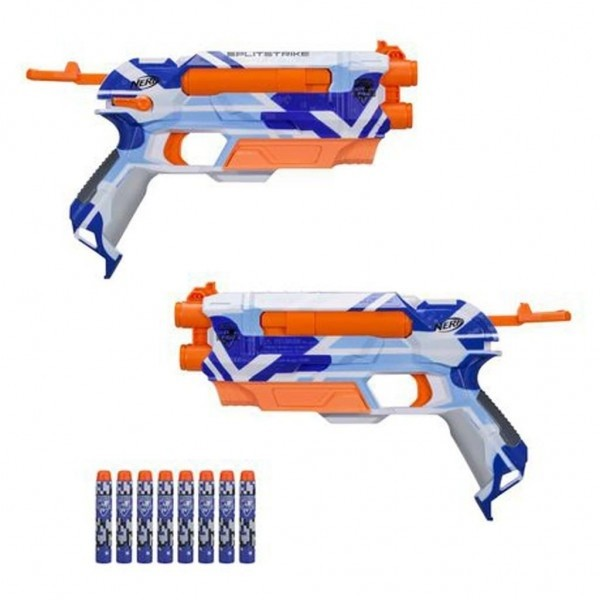 N-strike Splitstrike Battle Camo Blaster
