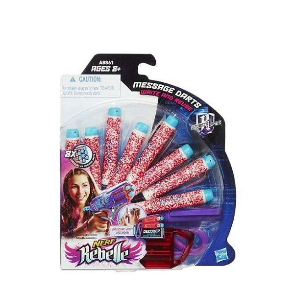 Nerf Rebelle Secrets Spies Darts 8 Stuks