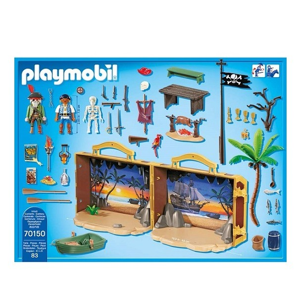 Playmobil Piraten Meeneem Pirateneiland
