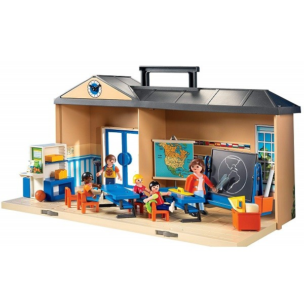 Playmobil City Life Meeneem School