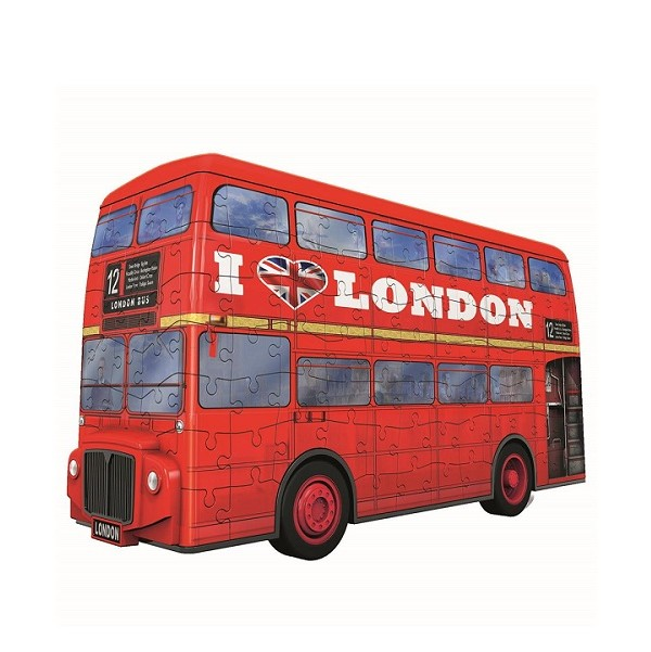 Ravensburger 3D Puzzel London Bus 216 stukjes