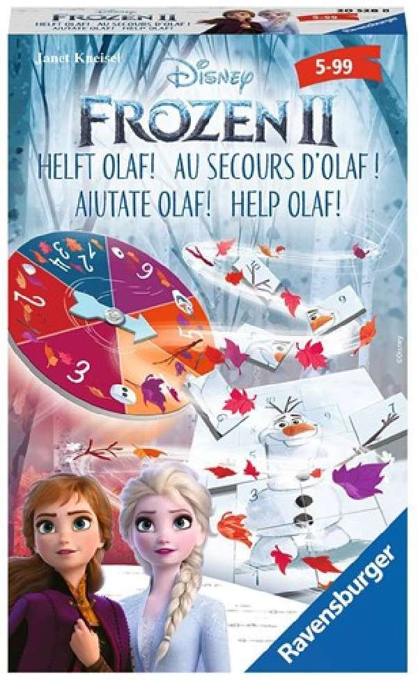 Frozen 2 - Help Olaf! Pocketspel