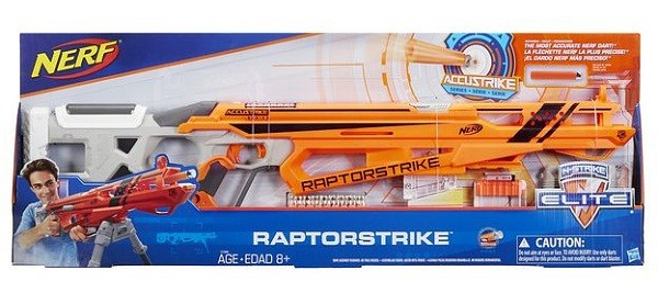 Nerf Elite Accustrike Raptorstrike bonus Set