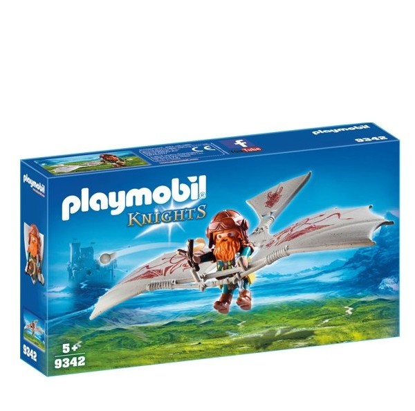 Playmobil Knights Dwergzweefvlieger