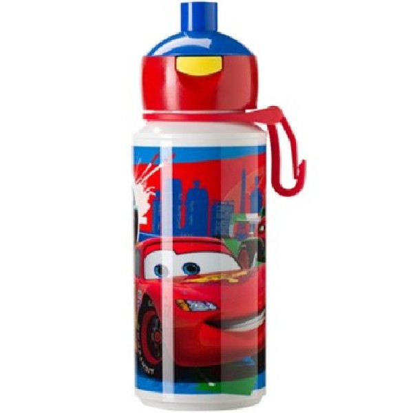 Mepal Drinkfles pop-up Cars 2