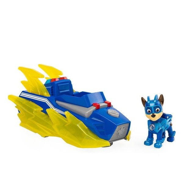 Paw Patrol Mighty Pups Charged Up Chase Voertuig