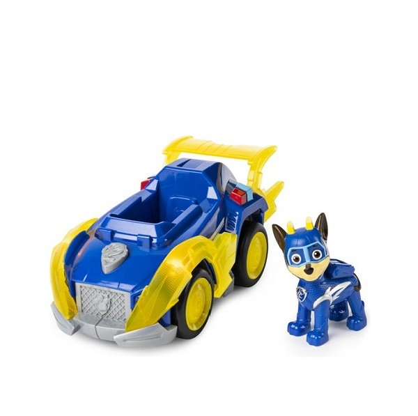 Paw Patrol Mighty Pups Super Paws Chase Deluxe Voertuig