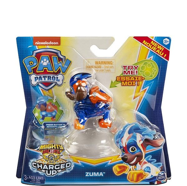 Paw Patrol Mighty Pups Charged Up - Zuma