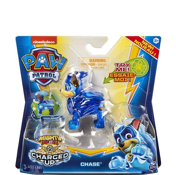 Paw Patrol Mighty Pups Charged Up - Chase