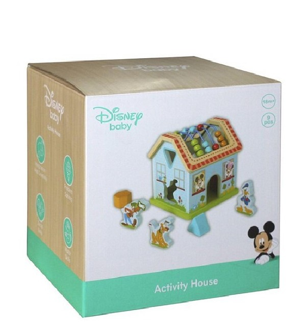 Mickey Mouse Activiteitenhuis Hout