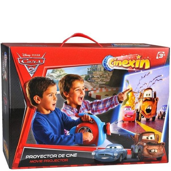 Cars 2 Filmprojector